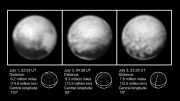 Latest Images of Pluto from New Horizons Spacecraft
