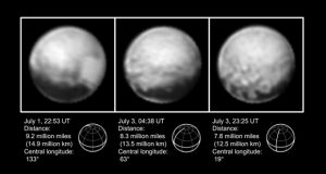 Latest New Horizons Spacecraft Images of Pluto