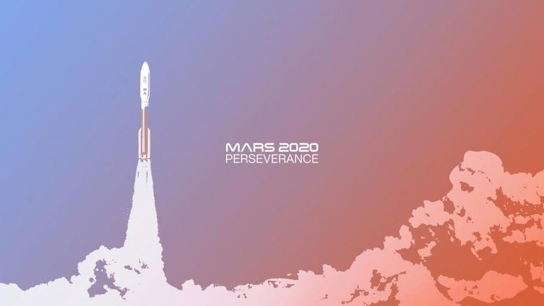Launch of the Mars 2020 Perseverance Rover