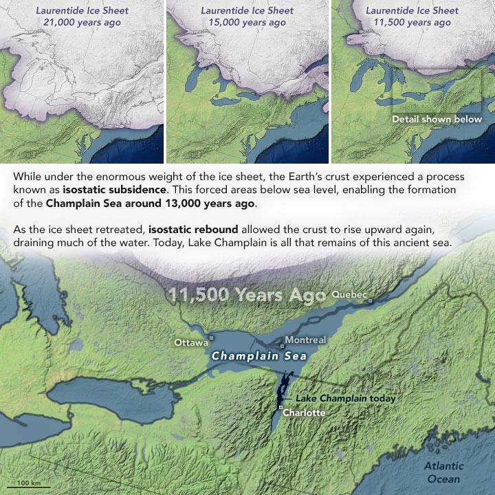 Laurentide Ice Sheet Annotated