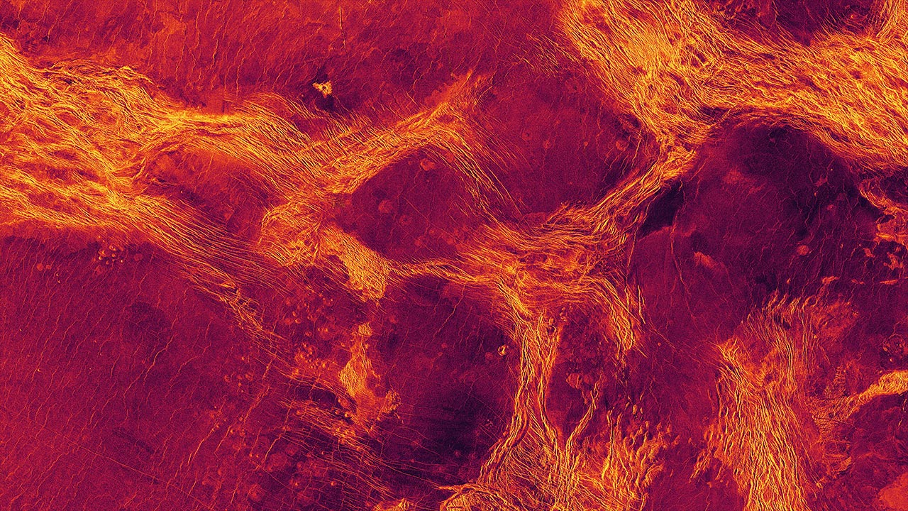 Signs of Geological Activity Discovered on Venus