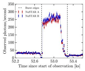 Light Curve of the Rapid Burster
