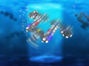 Light-Driven Nanosubmarines