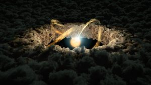 Light Echoes Give Clues to Protoplanetary Disk