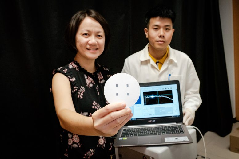 Ling Xing Yi Holding Chip That Can Trap Gas Molecules