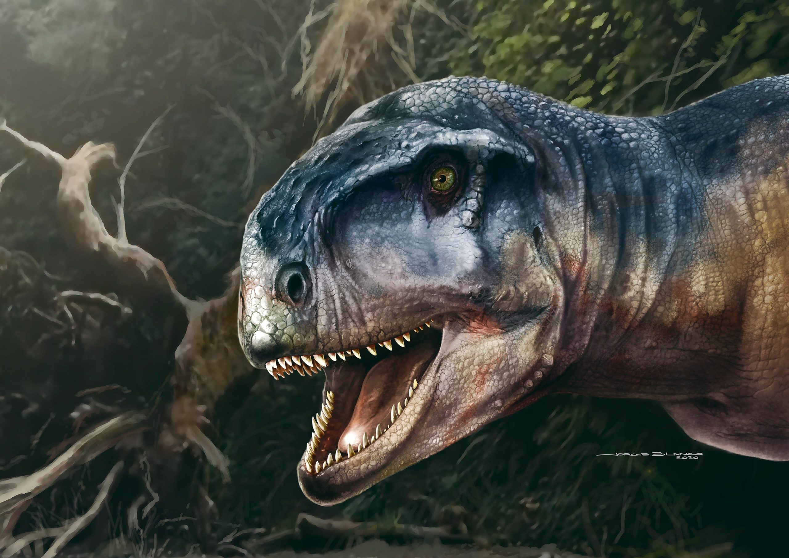 """The """"One Who Causes Fear"""" – Extremely Powerful New Meat-Eating Predator Discovered"""