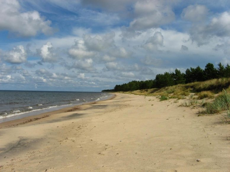 Lõimastu Beach in Estonia