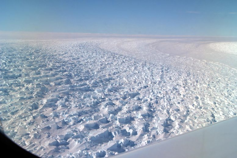 Lower Denman Glacier, East Antarctica