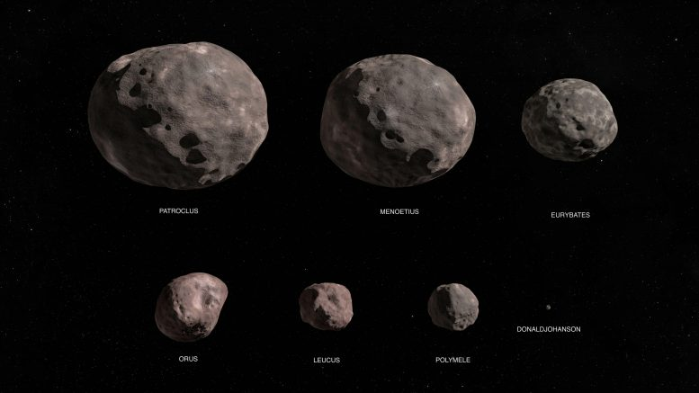 Lucy Mission Asteroid Targets