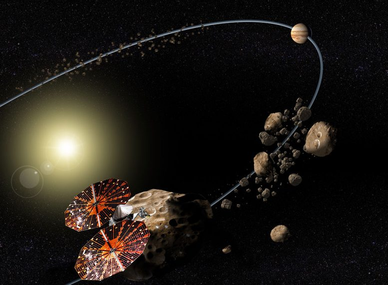 Lucy Mission to the Trojan Asteroids