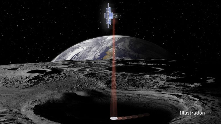 Lunar Flashlight Spacecraft