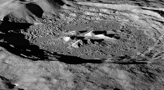 Lunar Hydrogen More Abundant on the Moons Pole-Facing Slopes