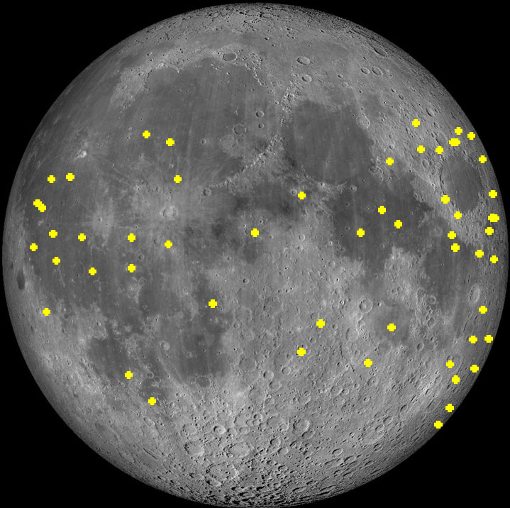 Lunar Impact Flashes Detected