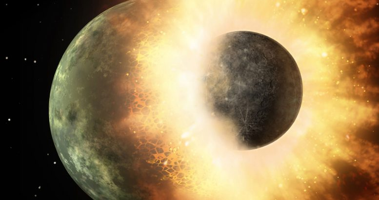 Lunar Rocks Suggest Different Story About Earth's Early Days