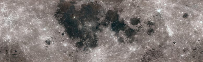 Lunar Surface in Color