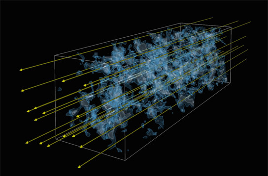 Lyman-alpha Forest Tomography of the Early Universe