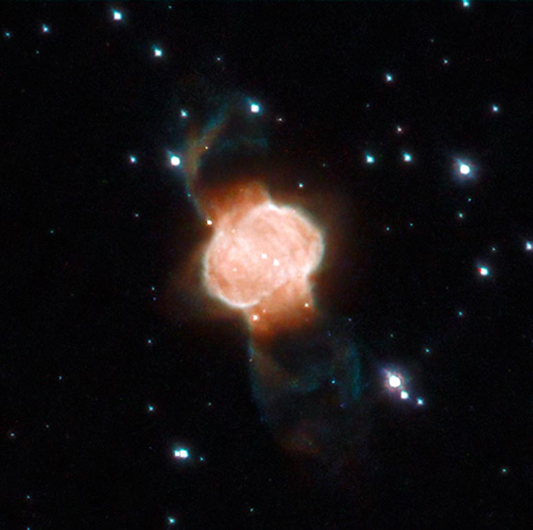 A Cosmic Hourglass – Bipolar Planetary Nebula Captured by Hubble - SciTechDaily
