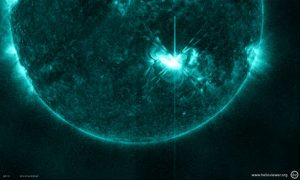 M5.3 class flare that peaked on July 4, 2012