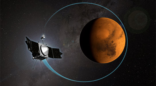 MAVEN Completes 1,000th Orbit around Mars