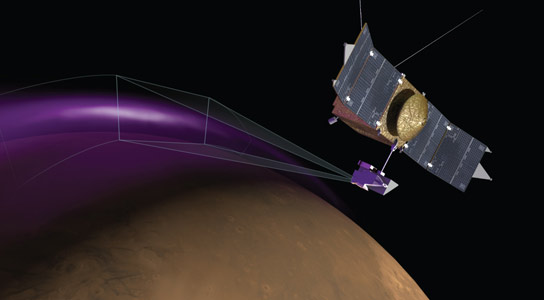 MAVEN Detects Aurora and Mysterious Dust Cloud around Mars