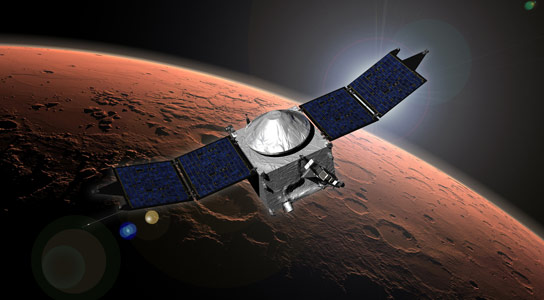 MAVEN Enters Orbit Around Mars