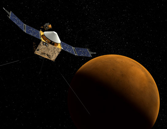 MAVEN Orbiter Set to Explore Mars