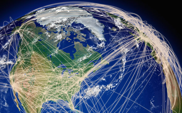 New model explores exploding growth in global for Waldo s world wide travel service