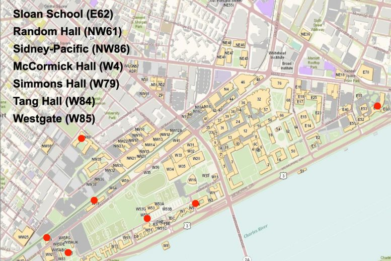 MIT COVID-19 Wastewater Testing Map