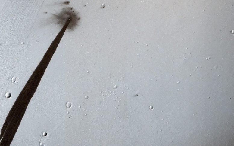 MRO Captures New Impact Crater Image