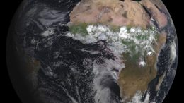 MSG-3 weather satellite delivers first image