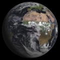 MSG-3 weather satellite image