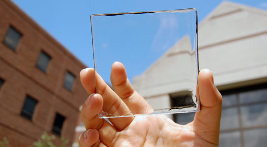 Transparent Luminescent Solar Concentrator Creates Solar Energy Without Blocking the View