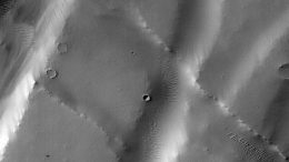 Machine Learning Spots Cluster of Mars Craters