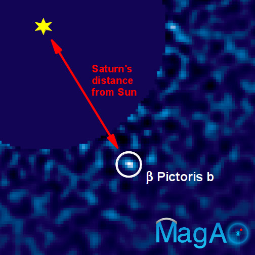 Magellan Adaptive Optics First Light Observations of the Exoplanet β Pic b
