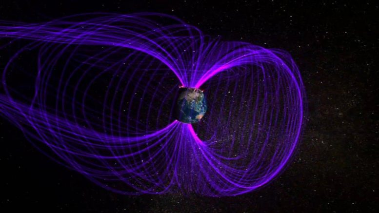 Magnetosphere Surrounding Earth