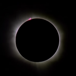 March 8 Solar Eclipse Totality Video