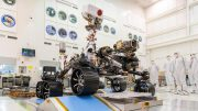 Mars 2020 Rover Test Drive