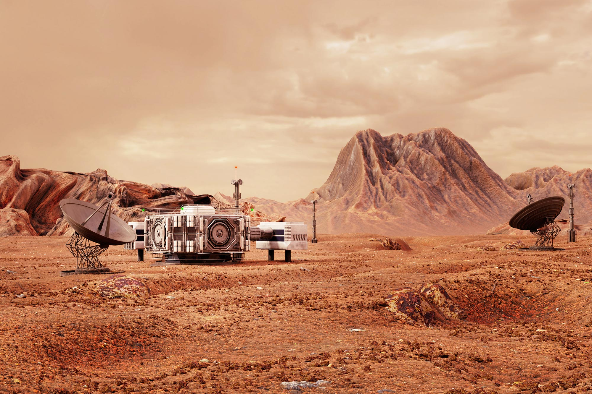 Could We Feed One Million People Living on Mars? A Provocative New ...