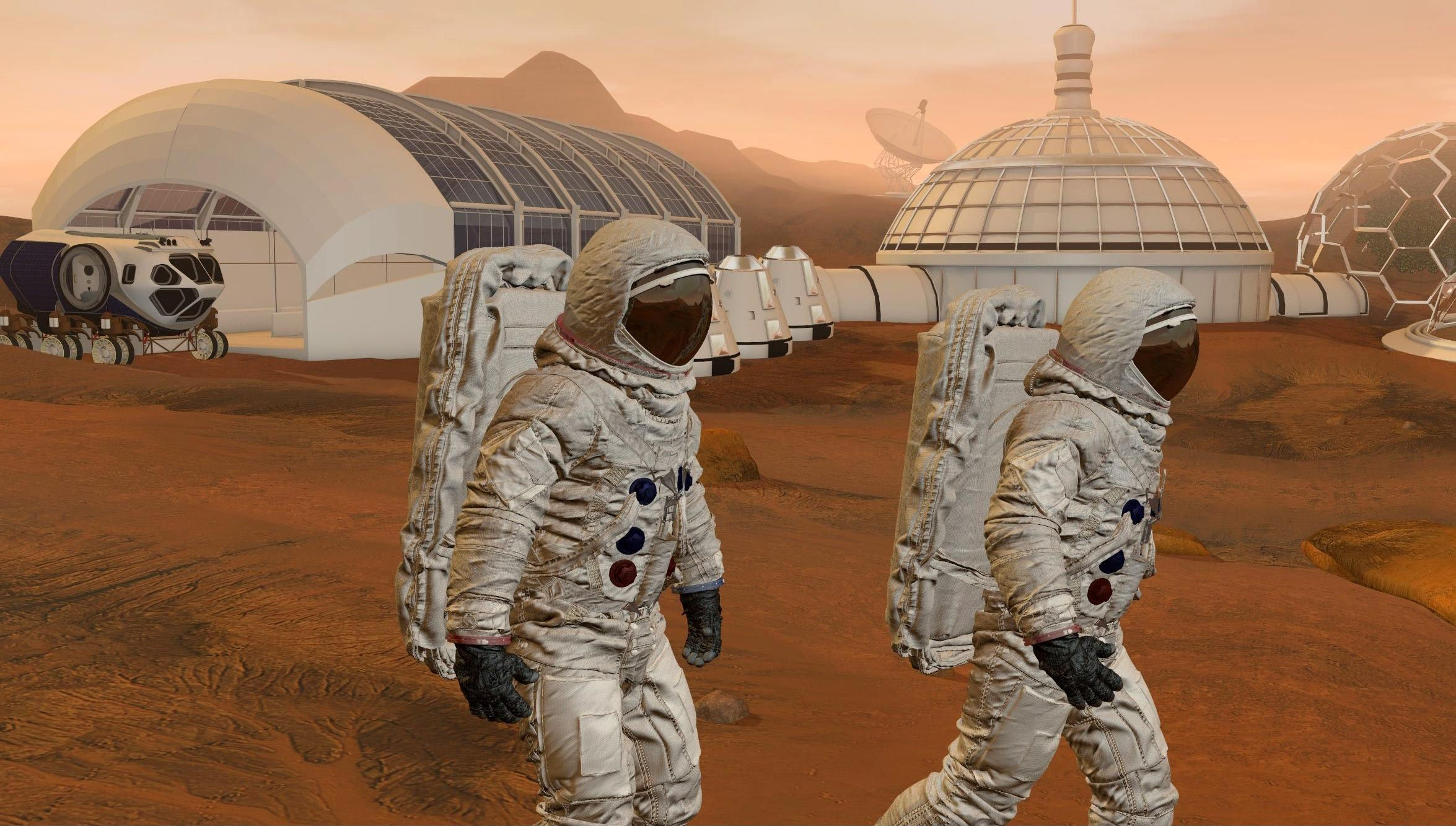 Mars Settlement Likely by 2050 Says Expert – But Not at Levels Predicted by Elon Musk