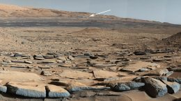 Mars Curiosity Rover Mount Sharp