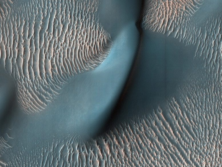 Mars dunes and ripples