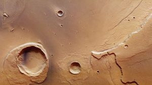Mars Express Finds Remnants of Mega-Flood on Mars