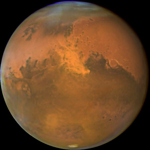 Mars Had Oxygen Rich Atmosphere