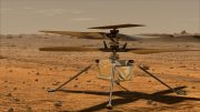 Mars Helicopter Artist Concept