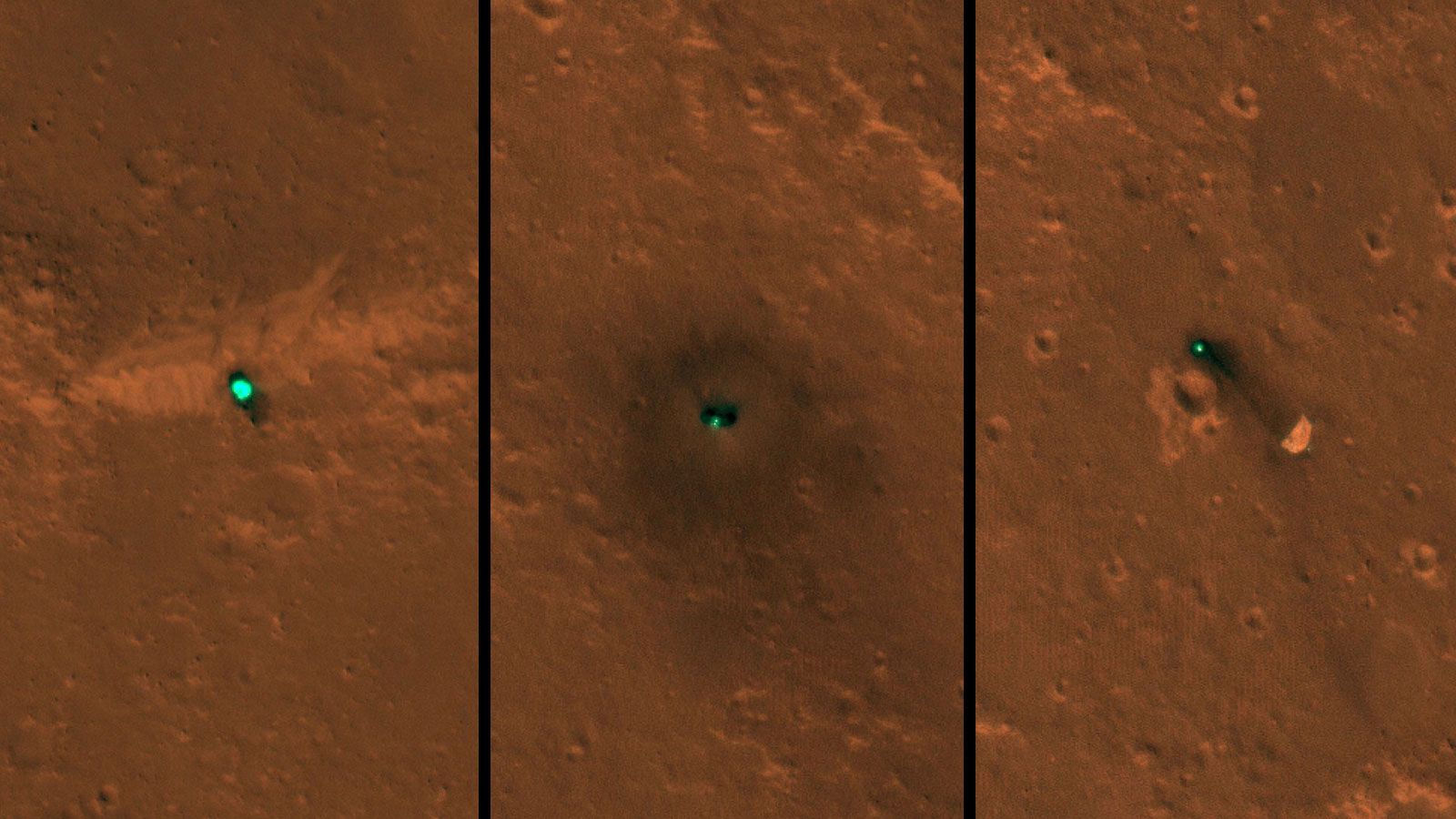 InSight rover spied on Mars by MRO spacecraft's HiRISE camera