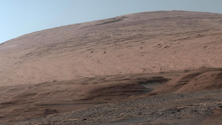 Mars Mount Sharp