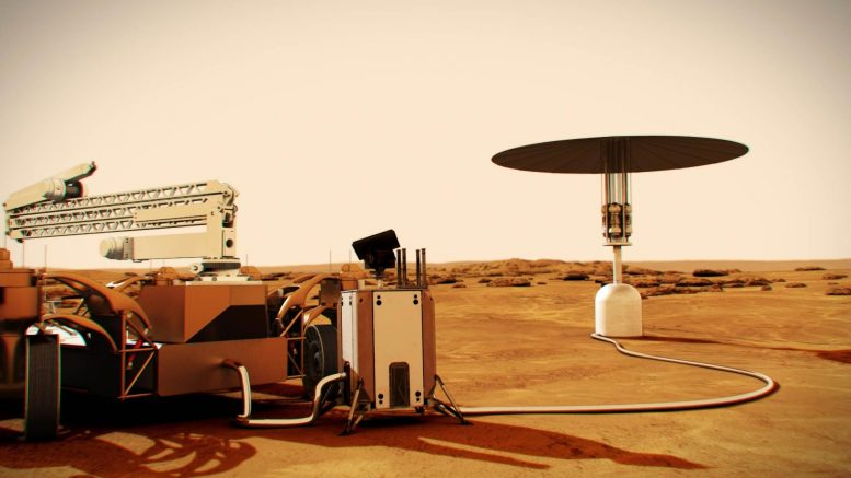 Mars Nuclear Fission Power System