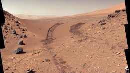 Mars Photographed by Martian Rover Curiosity