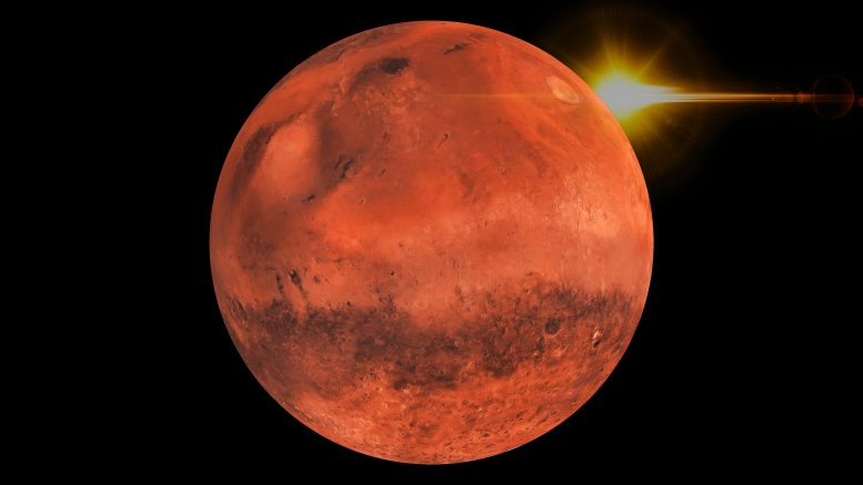 Mars Red Planet Highlights