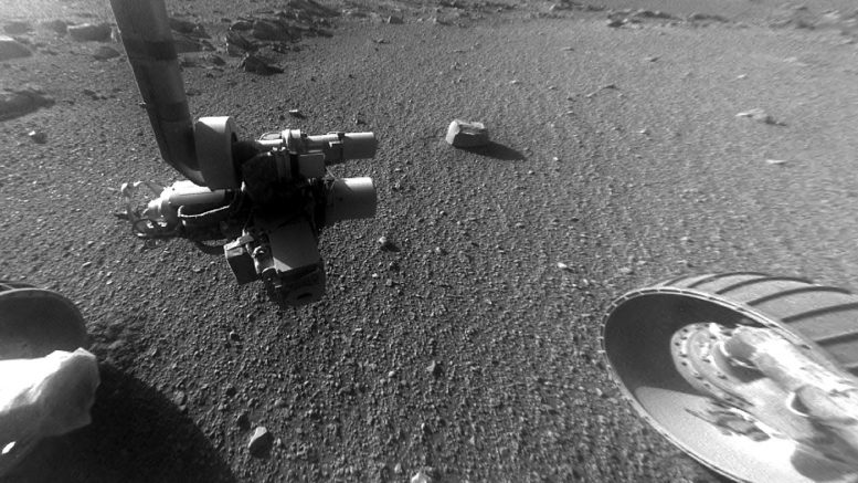 Mars Rover Finds New Surprises